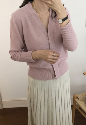 Sorted cardigan (3color)