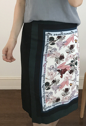 Scarf skirt (2color)