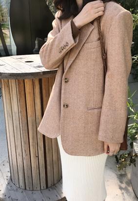 Walter herringbone jacket (2color)