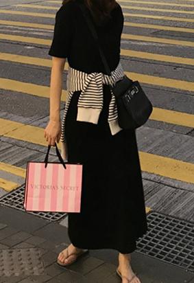 [band] Sleek knit skirts (2color)