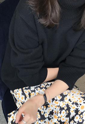 Miel turtle knit (4color)