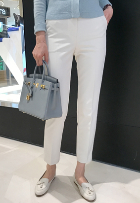 Attention pants (ivory)