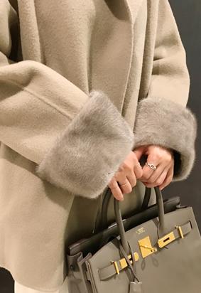 Wool mink jacket (2color)