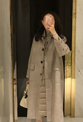 [HandMade] Single A line coat