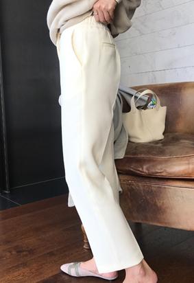 [Back band] Leighton pants (2color)