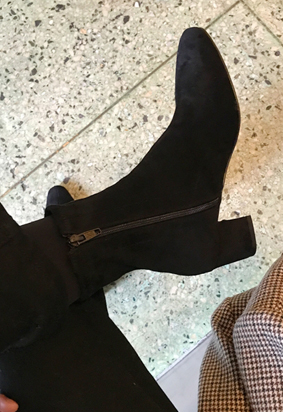 Slim ankle boots (2color)