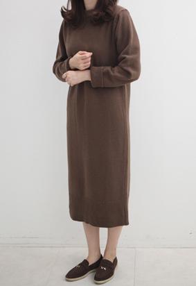 Latte knit dress (3color)