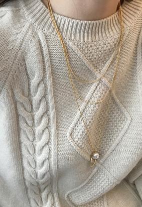 Pearl gold layered N