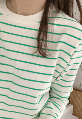Coming stripe knit (3color)