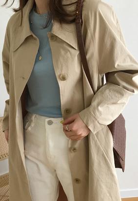 Trow trench coat (beige)