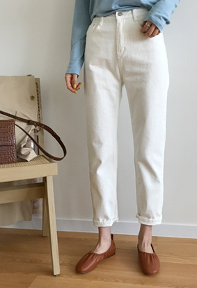 1061 pants (ivory)
