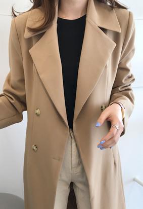 Eunoia double coat (beige)