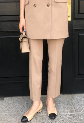Snug slacks (beige)