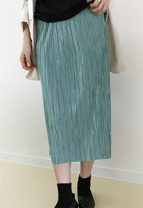 Chalk skirt (3color)