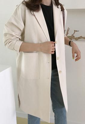Premie trench coat (2color)