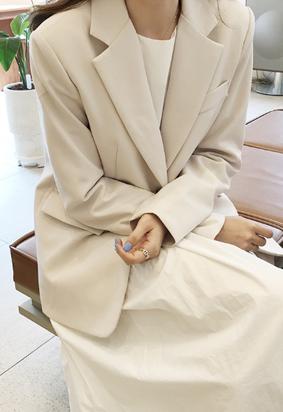 Modern basic jacket (2color)