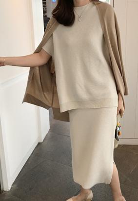 [Wholegarment] Mienne skirt (ivory)