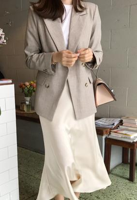 Urban collar jacket (2color)