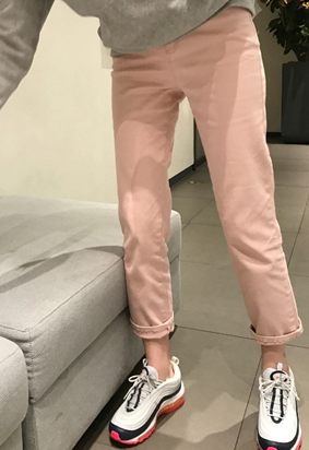 Chess pants (pink)