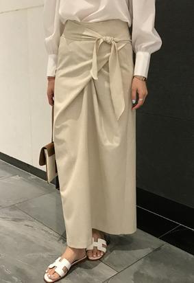 twist skirt (2color)