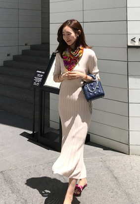Huria knit dress (2color)