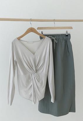 [band] String skirt (3color)