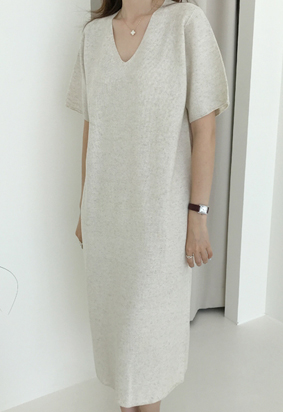 Dyllis linen dress (2color)