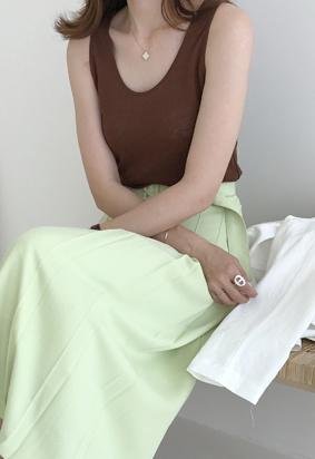 Olga linen top (4color)