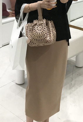 [band] Anika skirt (beige)