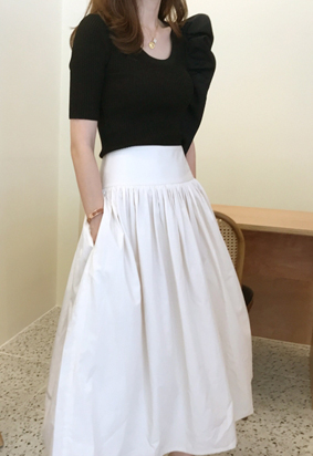 Elroy skirt (2color)