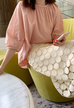 Lovable blouse (pink)