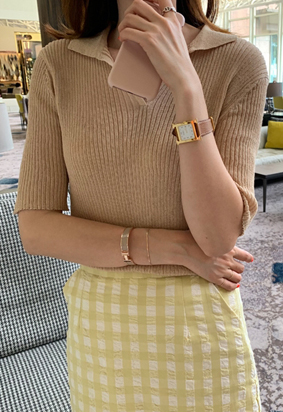 Belle collar knit (3color)