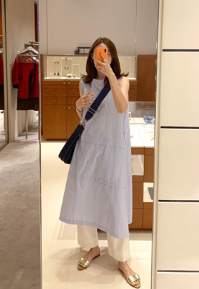 Fresh dress (skyblue)
