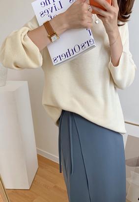 [Wholegarment] Eden knit (2color)