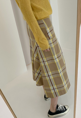 Autumn skirt (beige)