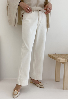 [Back Band] Jerry's Pants (ivory)